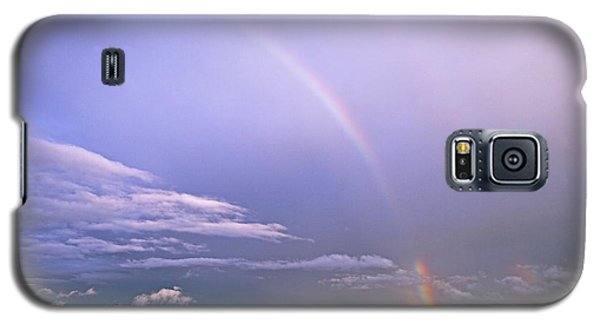 End Of The Rainbow Sebago Lake Maine Galaxy S5 Case