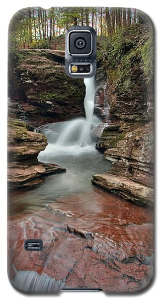 Ending The Day At Adams Falls Galaxy S5 Case