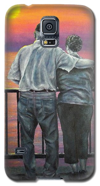 Galaxy S5 Case featuring the painting Endless Love by Susan DeLain