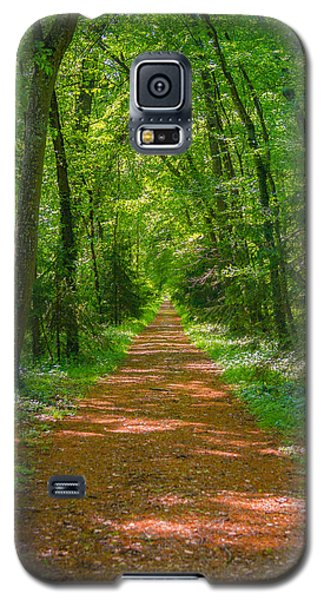 Endless Trail Into The Forest Galaxy S5 Case