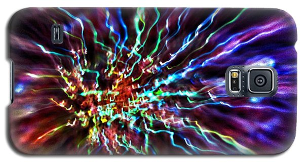 Galaxy S5 Case featuring the photograph Energy 2 - Abstract by Marianna Mills