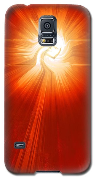Galaxy S5 Case featuring the photograph Energy Warp by Kellice Swaggerty
