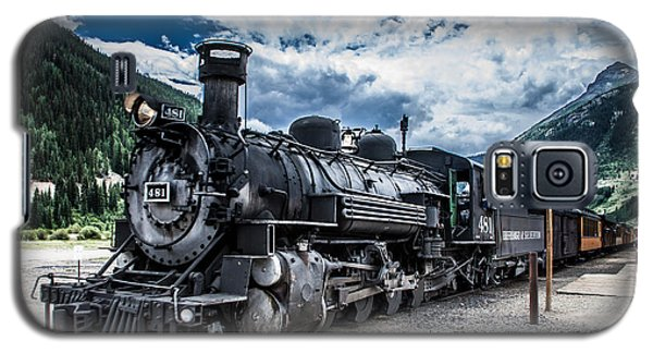 Engine 481 Galaxy S5 Case by Jim McCain