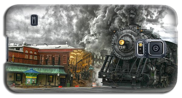 Engine 734 On The Western Maryland Scenic Railroad  Galaxy S5 Case by Jeannette Hunt