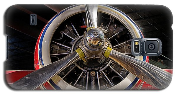 Galaxy S5 Case featuring the photograph Engine Of Grumman G-73 Mallard by JRP Photography