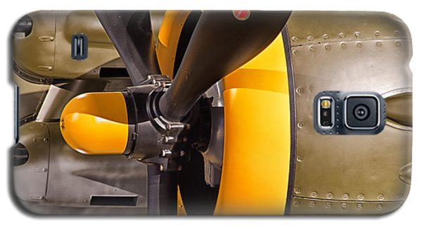 Engine Of North American B-25j Mitchell Galaxy S5 Case by JRP Photography