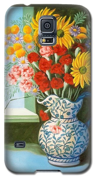 English Bouquet Galaxy S5 Case
