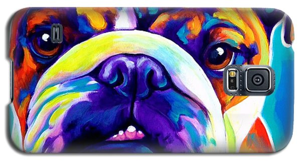 Bulldog - Bond -square Galaxy S5 Case