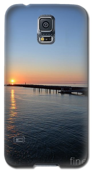 English Channel Sunset Galaxy S5 Case