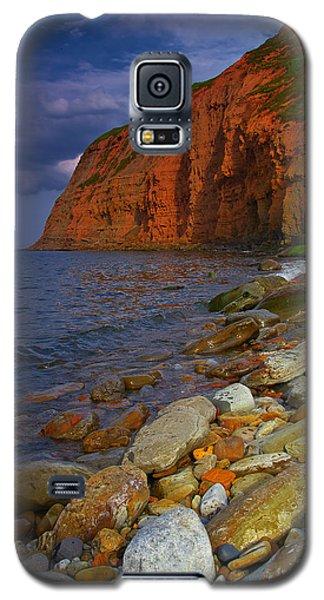 English Coastline Galaxy S5 Case
