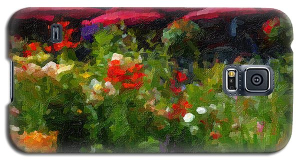 English Country Garden Galaxy S5 Case