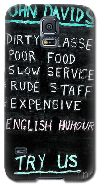 English Humor Galaxy S5 Case