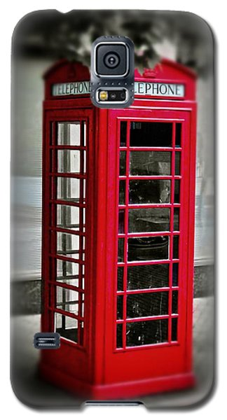 English Phone Booth 1 Galaxy S5 Case
