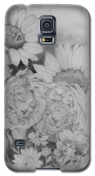 English Roses African Sunflower Galaxy S5 Case