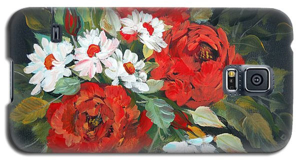 English Roses Galaxy S5 Case by Dorothy Maier