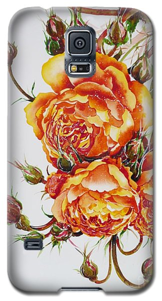 English Roses Galaxy S5 Case