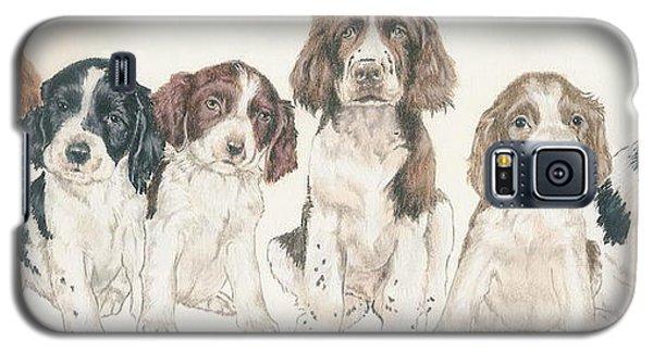 English Springer Spaniel Puppies Galaxy S5 Case