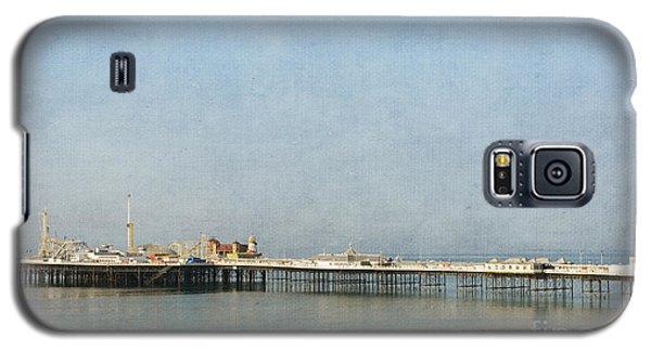 English Victorian Seaside Pier - Textured Galaxy S5 Case