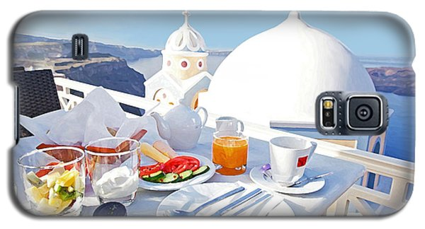 Enjoy Breakfast Galaxy S5 Case by Aiolos Greek Collections