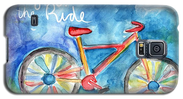 Enjoy The Ride- Colorful Bike Painting Galaxy S5 Case