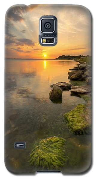 Enjoying Sunset Galaxy S5 Case
