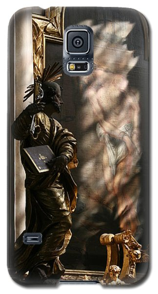 Galaxy S5 Case featuring the sculpture Enlightend by Steve Godleski