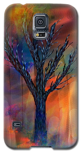Galaxy S5 Case featuring the painting Enlightenment by Yul Olaivar