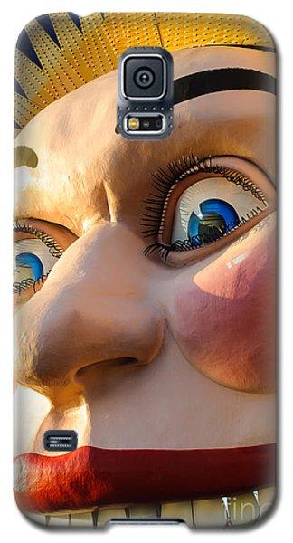 Enormous Smiling Face Galaxy S5 Case