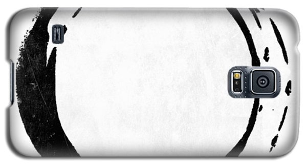 Enso No. 107 Black On White Galaxy S5 Case