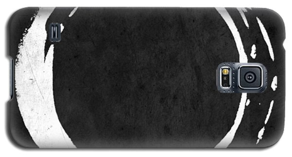 Enso No. 107 White On Black Galaxy S5 Case