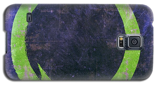 Enso No. 108 Green On Purple Galaxy S5 Case
