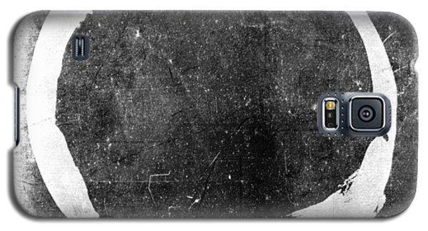 Enso No. 109 White On Black Galaxy S5 Case