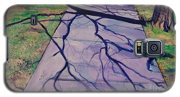 Galaxy S5 Case featuring the painting Entanglement On Highway 98' by Ecinja Art Works