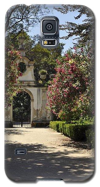 Galaxy S5 Case featuring the photograph Entrance To A Secret Garden by Sandy Molinaro