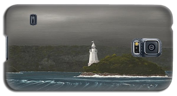 Entrance To Macquarie Harbour - Tasmania Galaxy S5 Case by Tim Mullaney
