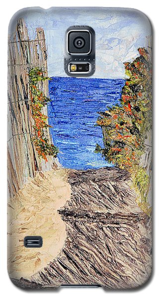 Galaxy S5 Case featuring the painting Entrance To Summer by Michael Daniels