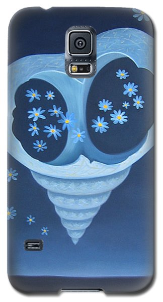 Galaxy S5 Case featuring the painting Entreaty by Tone Aanderaa