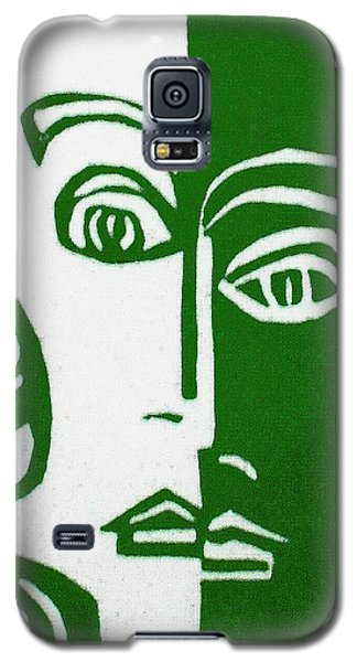 Galaxy S5 Case featuring the painting Envy by Donna Tucker