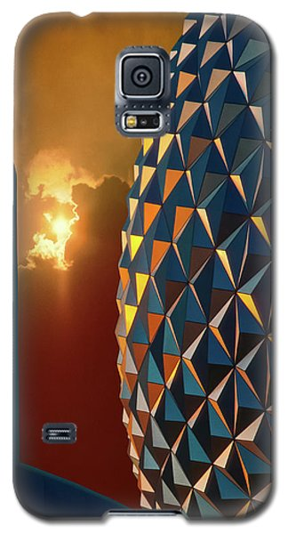 Epcot Galaxy S5 Case