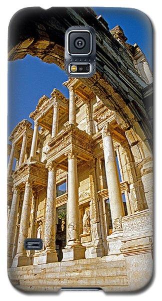 Ephesus Library 2 Galaxy S5 Case by Dennis Cox WorldViews