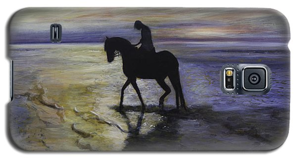 Epona At Sunset Galaxy S5 Case by Ron Richard Baviello