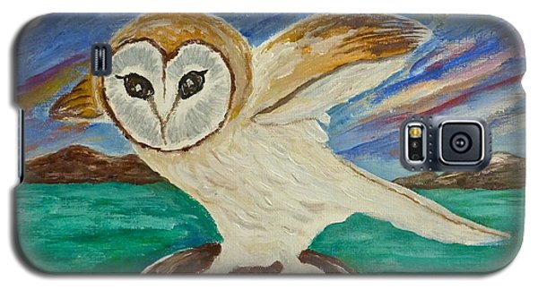 Equinox Owl Galaxy S5 Case