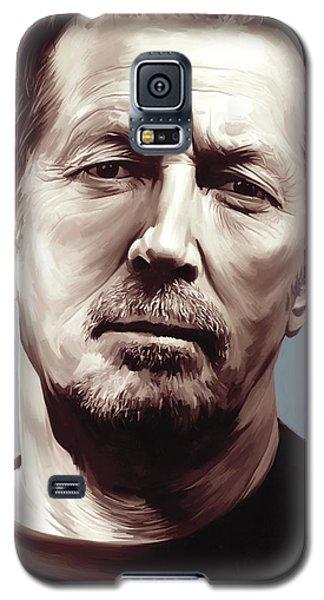 Eric Clapton Artwork Galaxy S5 Case by Sheraz A