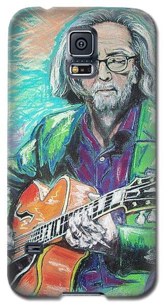 Eric Clapton Galaxy S5 Case by Melanie D
