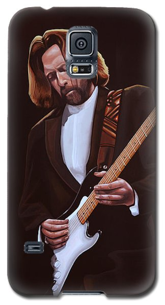 Eric Clapton Painting Galaxy S5 Case