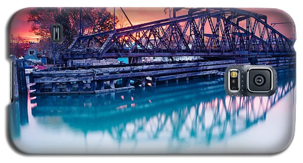 Erie Canal Swing Bridge Galaxy S5 Case