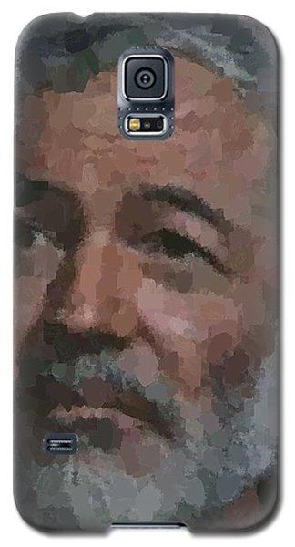 Ernest Hemingway Portrait Galaxy S5 Case