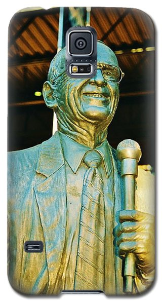 Ernie Harwell Statue At The Copa Galaxy S5 Case