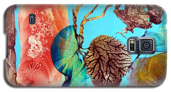 Galaxy S5 Case featuring the painting Ernsthaftes Spiel Im Innerem Erdteil by Otto Rapp