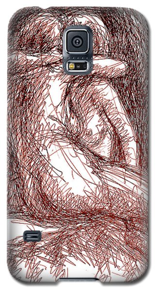 Erotic Drawings 19-2 Galaxy S5 Case